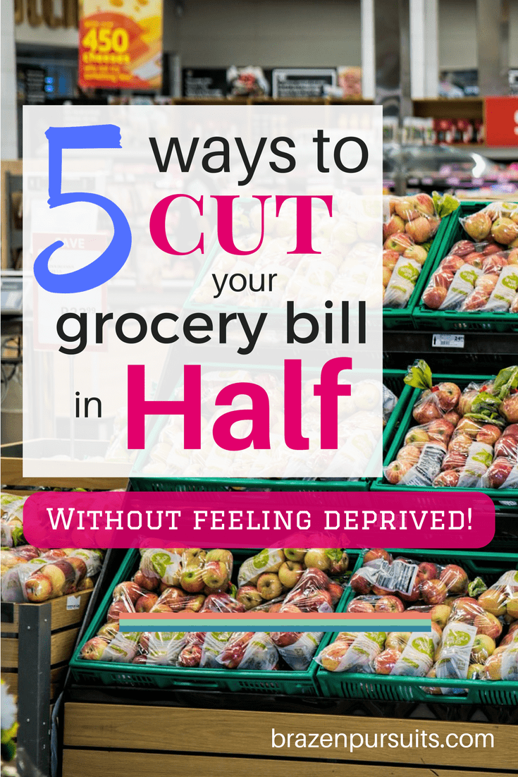 Easy guide on reducing your grocery bill next time you do a grocery run