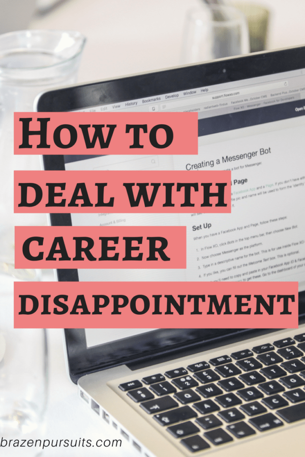 Having a career setback is hard. See the steps you can do to deal with career disappointment.